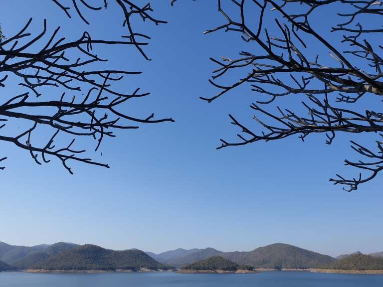 Mae Kuang Dam, 10 minutes from Studio 88, Doi Saket