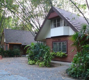 Self-contained bungalows of Studio 88 Artist Residency, Chiangmai
