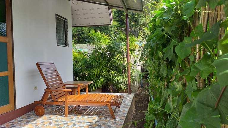 Studio 88 Artist Residency balcony, Chiangmai